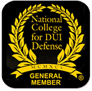 National College for DUI Defense Member