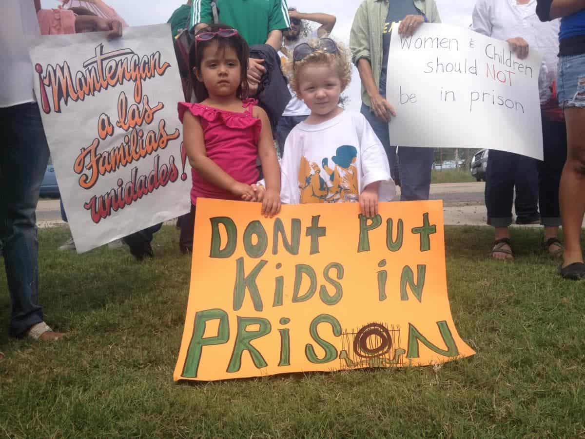 Immigrant Kids and Families Shouldn't be Jailed