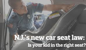 NJ's car seat laws changed.  Find out how.
