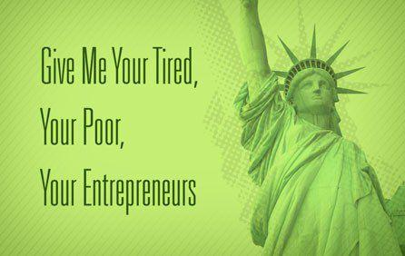 The US was built on immigrants and immigrant entrepreneurs