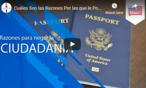 US citizenship denial reasons