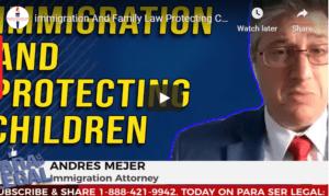unaccompanied minors legal status