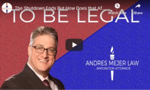 Shutdown effects on DACA application