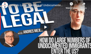 undocumented immigrants entering US