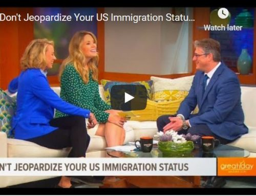 CBS News Washington D.C. | Don't Jeopardize Your US Immigration Status