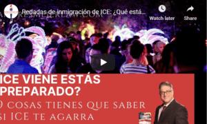 ICE immigration raid response