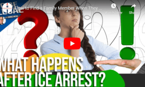 find family members after ICE arrest