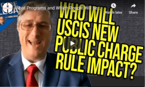 impact of new USCIS public charge