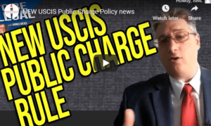 new USCIS public charge rule