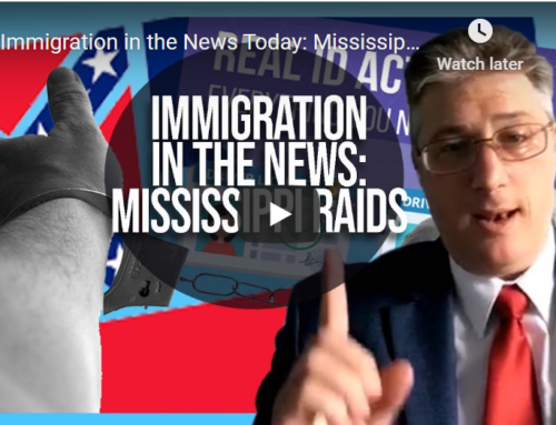 Immigration in the News Today- Mississippi Raids