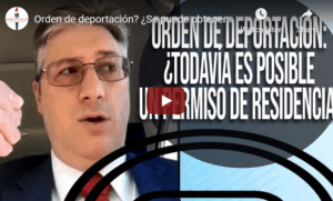 deportation order and green card