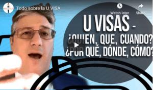 all about U Visas