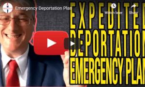 deportation emergency plan