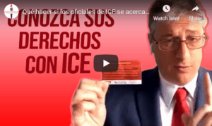 legal rights with ICE