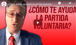 voluntary departure