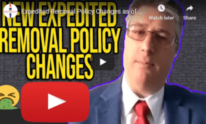 expedited removal policy changes
