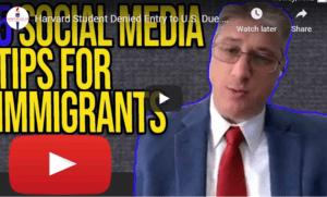 social media tips for immigrants