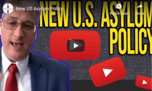 new US asylum policy