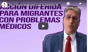deferred action for migrant medical problem