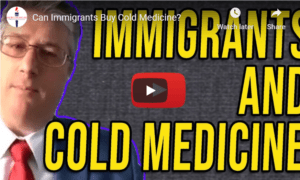 immigrants buying cold medicine