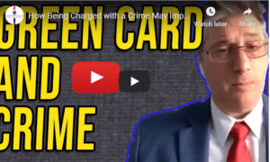 crime charge impact green card