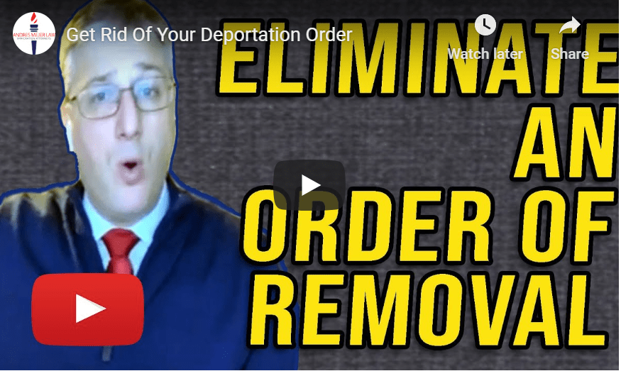 green card order of removal