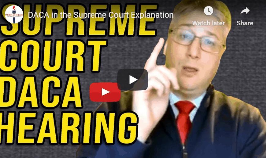 supreme court DACA hearing