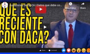 DACA hearings