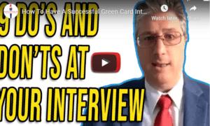 green card interview