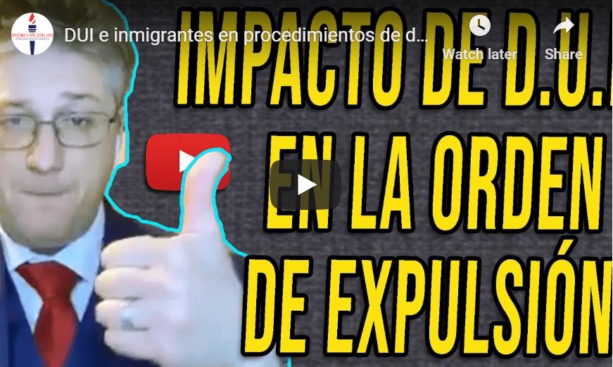 DUI immigrant deportation