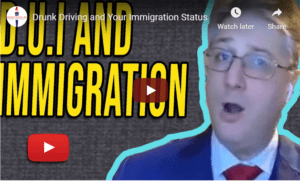 drunk driving and immigration