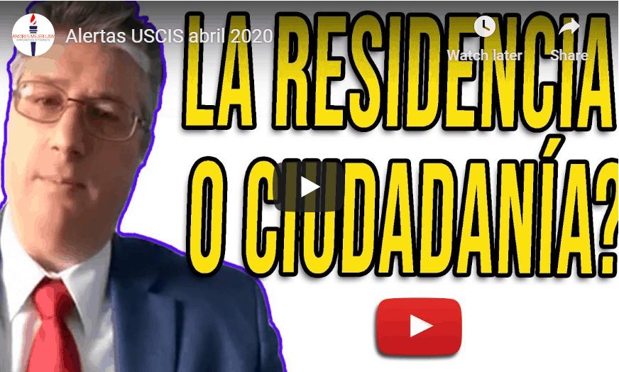 citizenship vs. residency