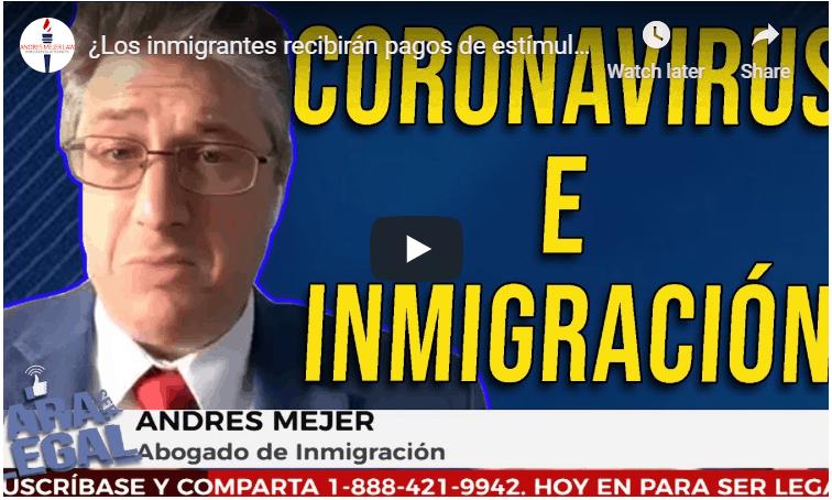 Coronavirus Immigration