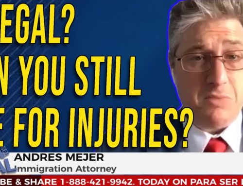 Illegal? Can you still sue for injuries?