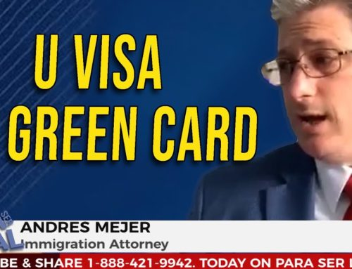 Get a Green Card Through U-Visa