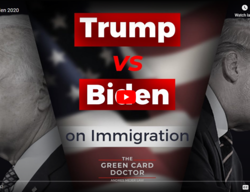 Trump vs Biden on Immigration