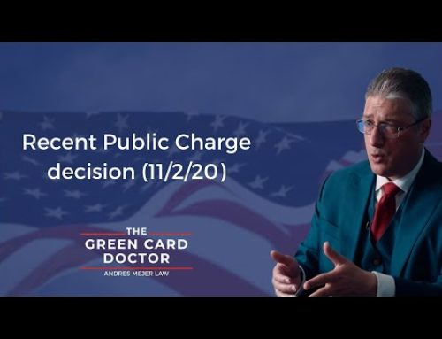 Public Charge News and Updates