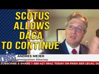 Termina DACA decisión de corte